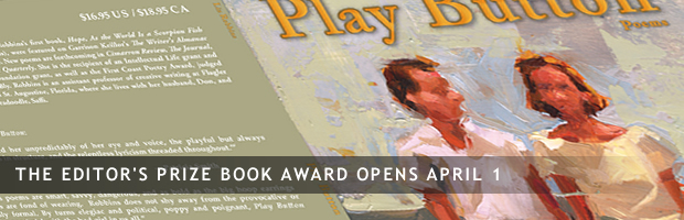 CPR Editor's Prize Book Award Opens April 1