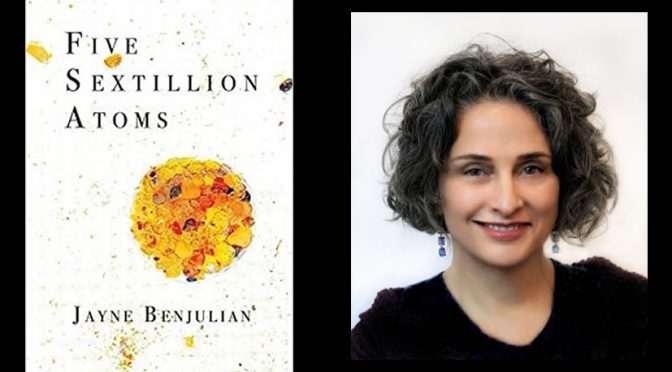 <em>Five Sextillion Atoms</em> by Jayne Benjulian