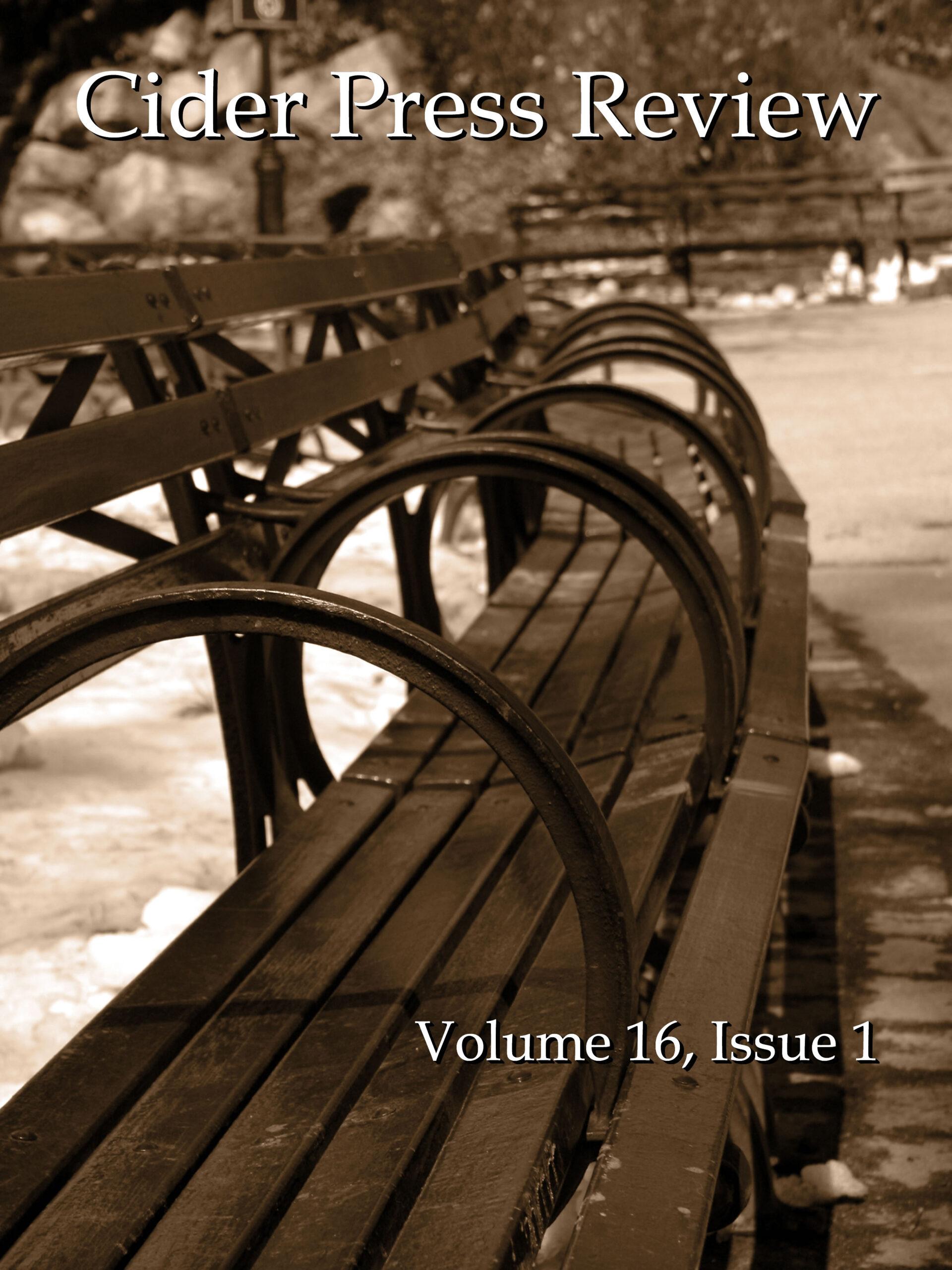 CPR Volume 16 Issue 1