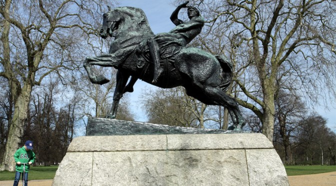 Rules of Equestrian Statues <br /><small>by Maggie Rosen</small>