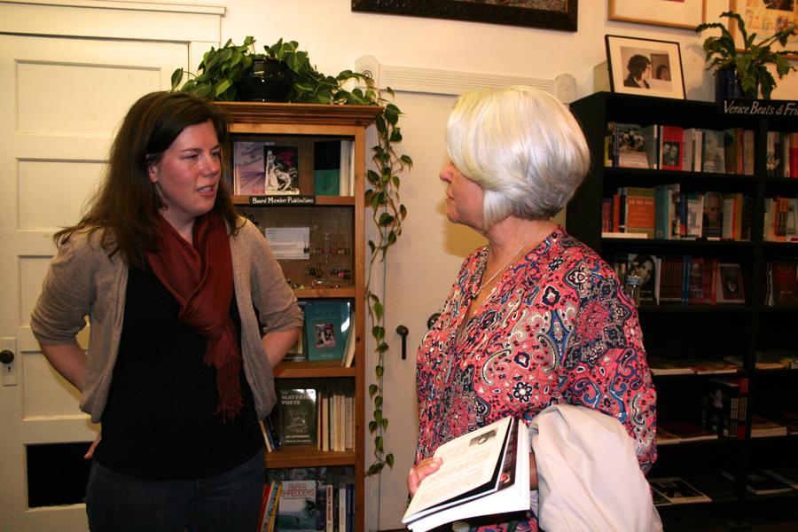Sarah Estes at Beyond Baroque Literary Center Bookstore
