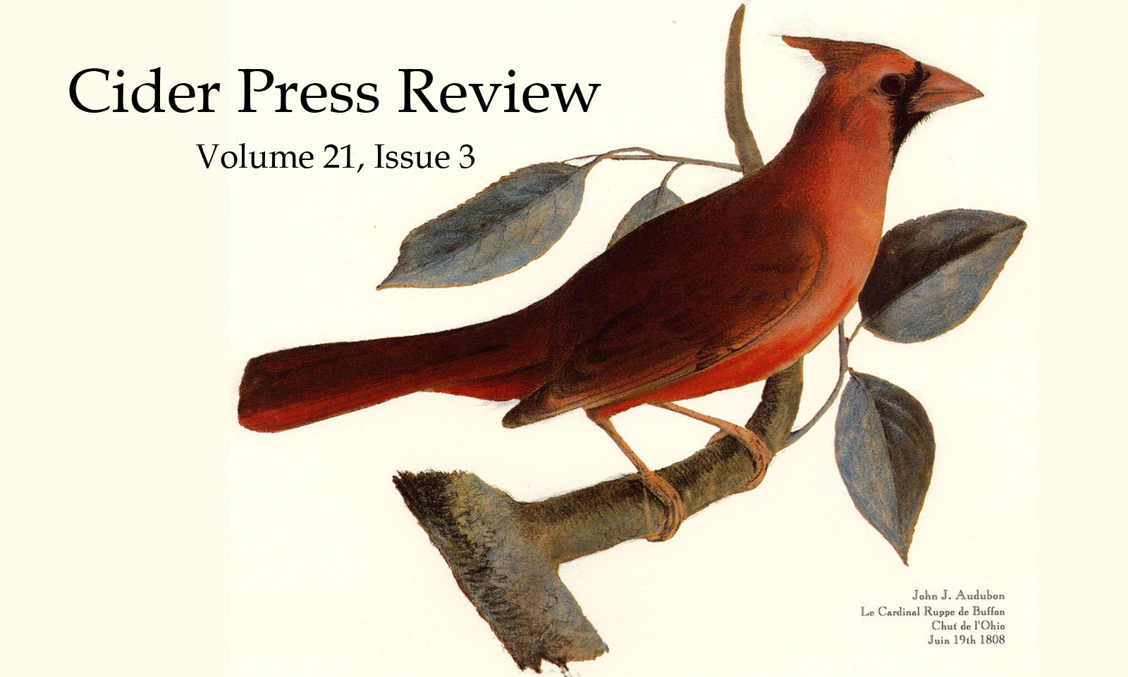CPR Volume 21-3, October 2019