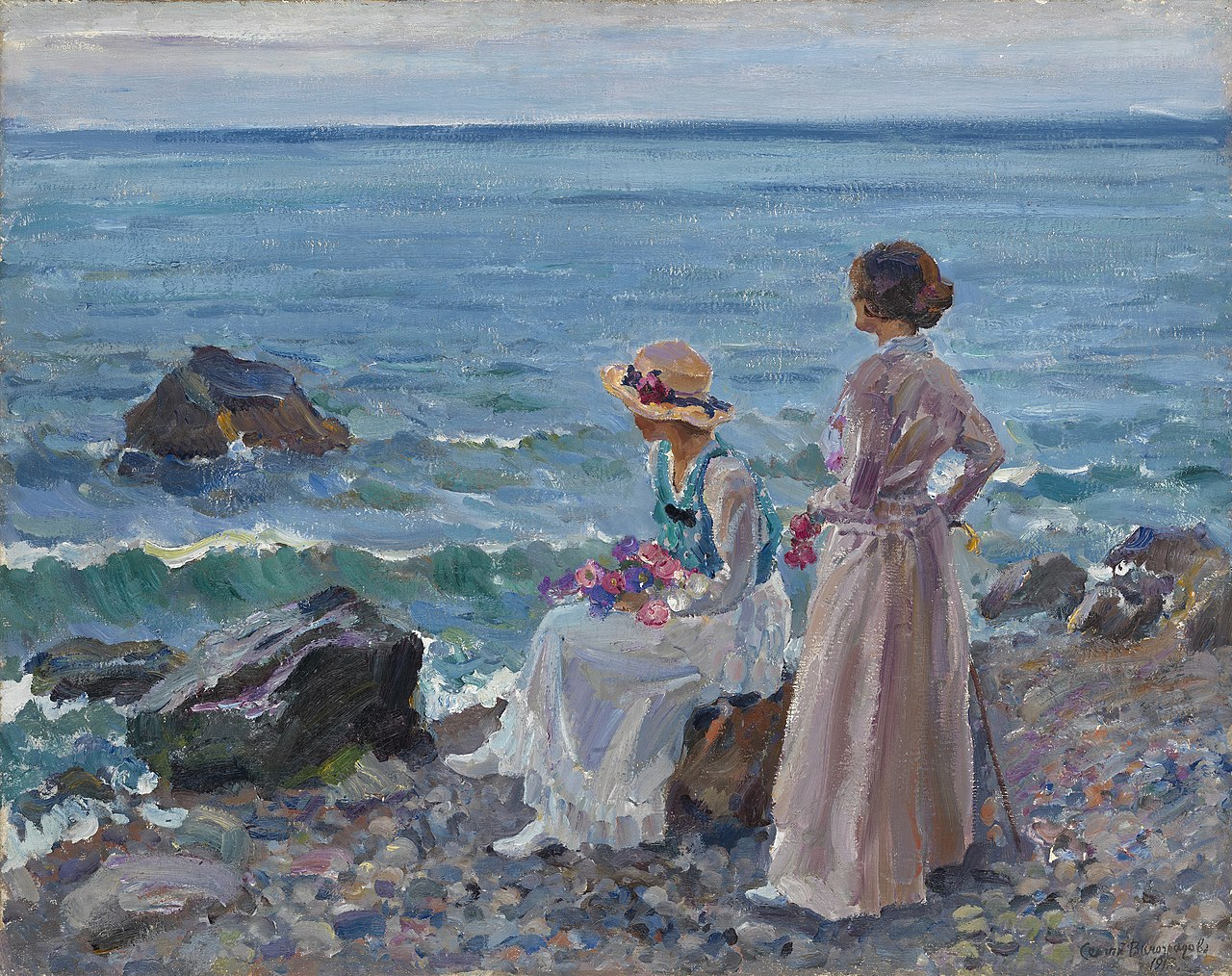Sergey_Vinogradov_-_Women_by_the_Sea.jpg
